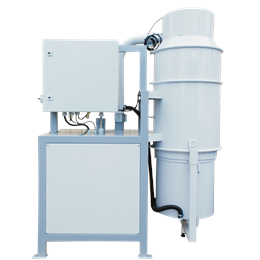 FD - Central vacuum unit with dust container